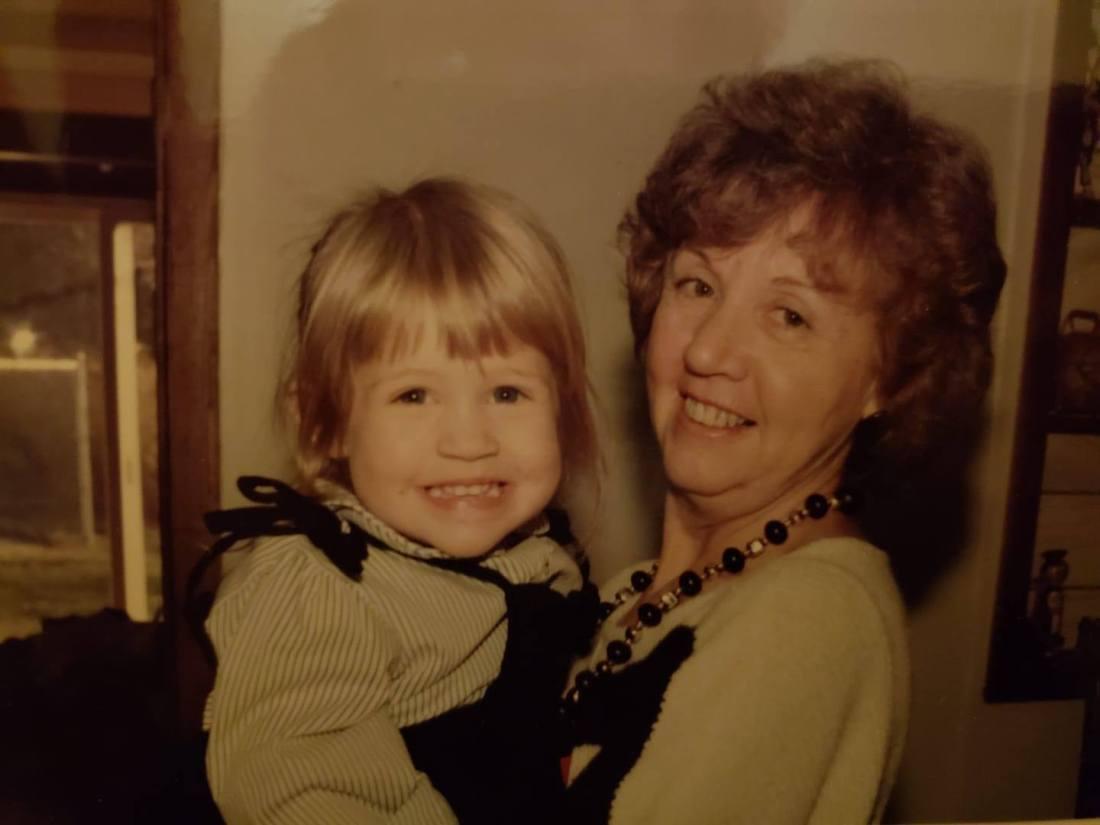 grandmom and me